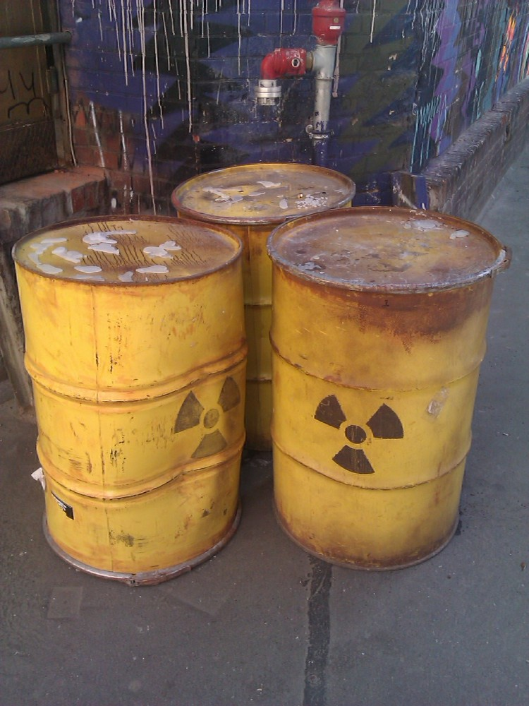 Radioactive waste Stopping the Hurt